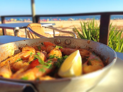 shrimps - best things to eat in Lagos Portugal
