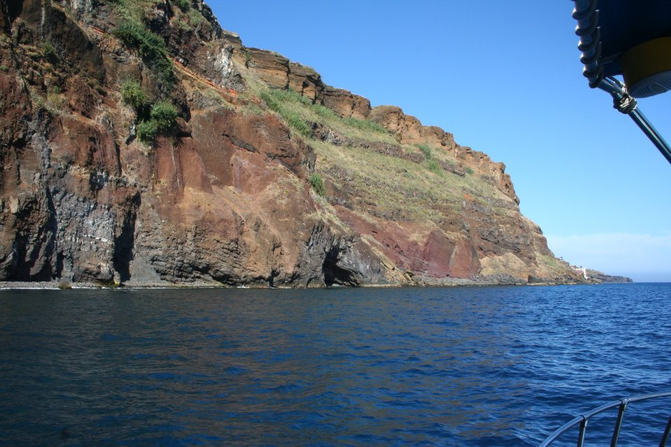 Coastline from madeira island
