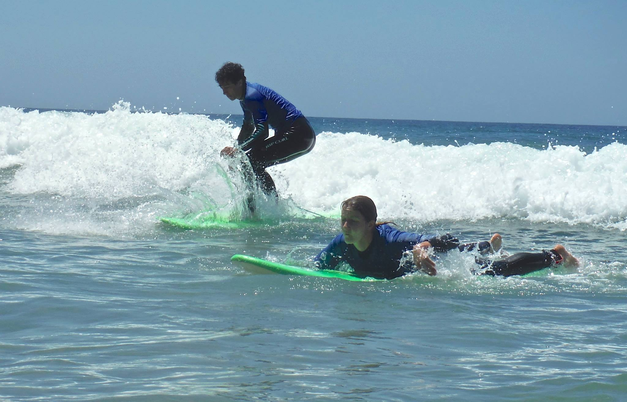 Surf lessons from Lagos Portugal
