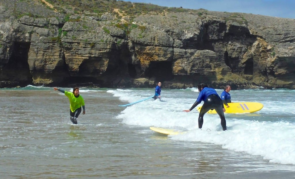 Our surf lessons are a lot of fun!