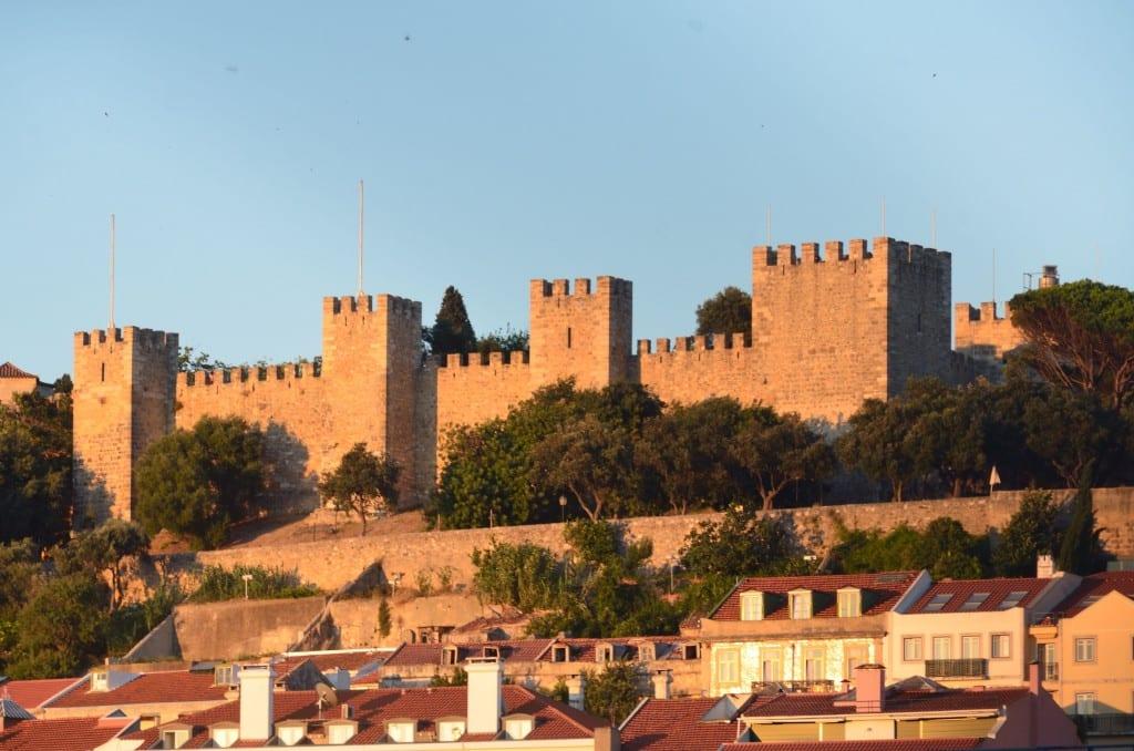 Castelo de sao jorge lisboa