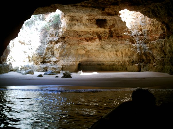 Captain's cave Algarve Portugal