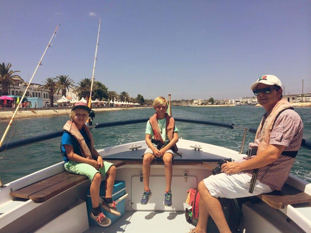 Family fishing tour in Lagos