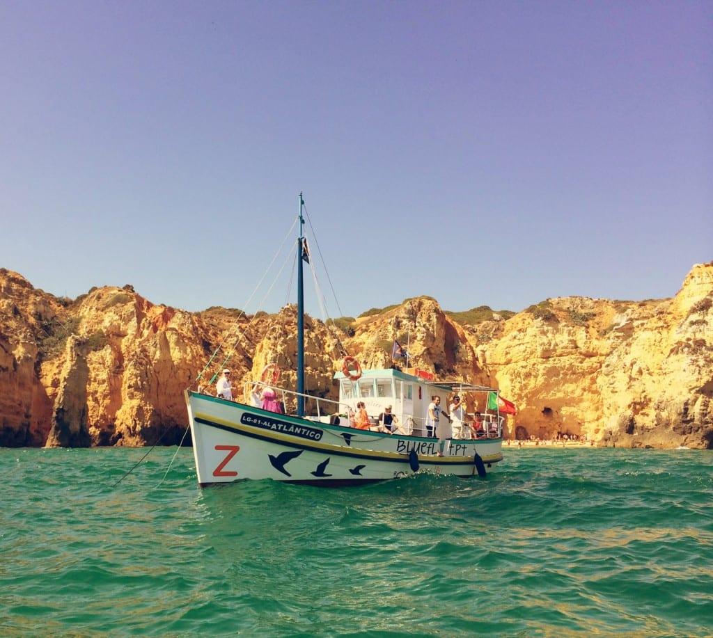 Blue feet boat tours Lagos