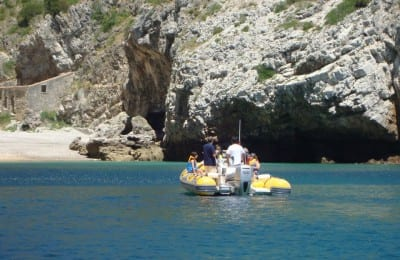Boat tour in Sesimbra Portugal