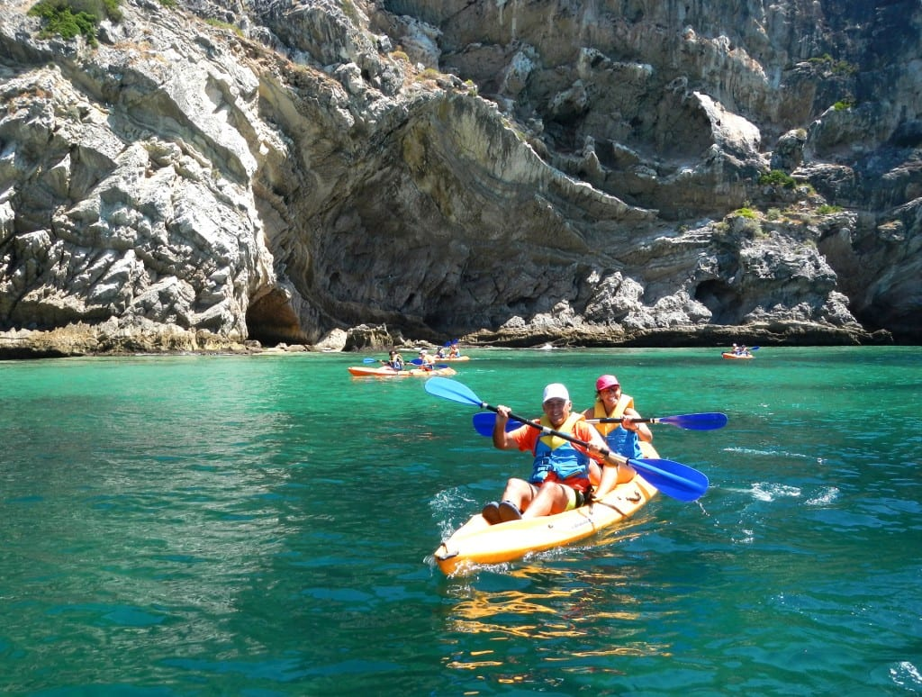 Kayak tour in Sesimbra