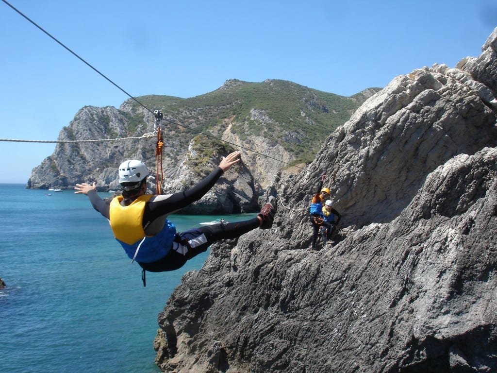 Coasteering in Sesimbra