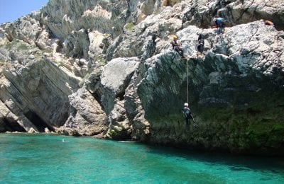 Coasteering in Sesimbra Portugal