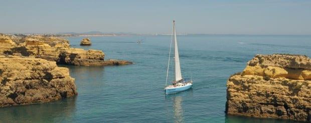 Sailing tour in Albufeira Portugal