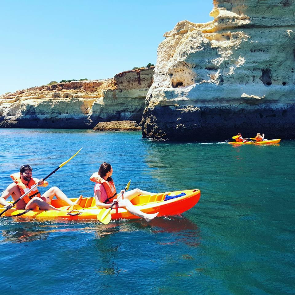 Kayak tour Benagil