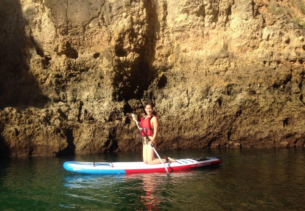 SUP grotto tour Lagos