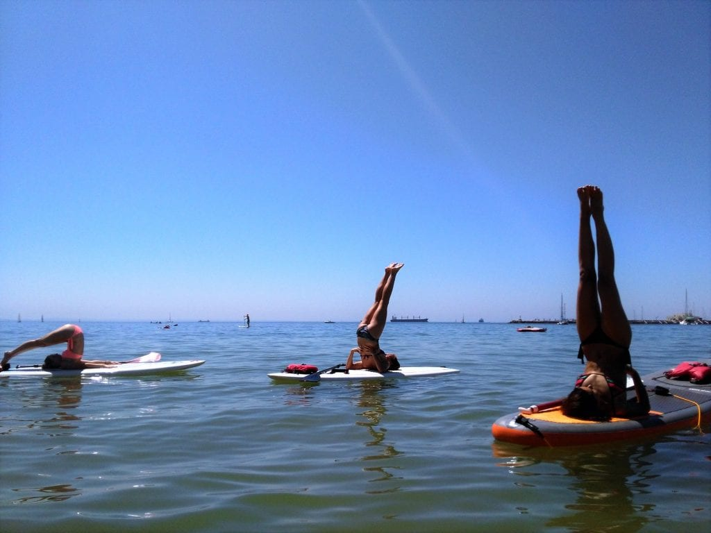 Paddle Yoga in Cascais