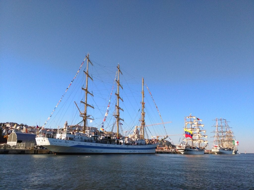 As Tall Ships Races de Lisboa '16