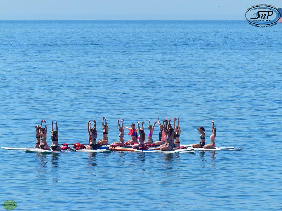 SUP Yoga in Cascais