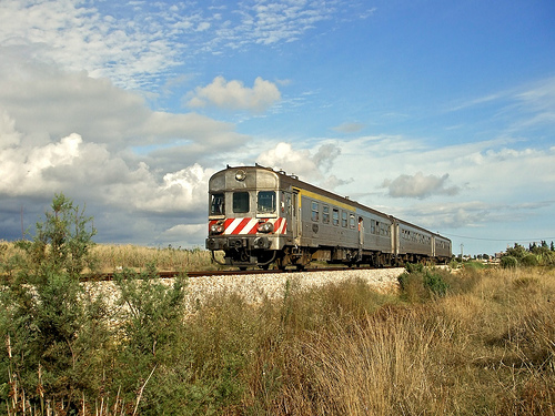 Tips for getting around in the Algarve - by train