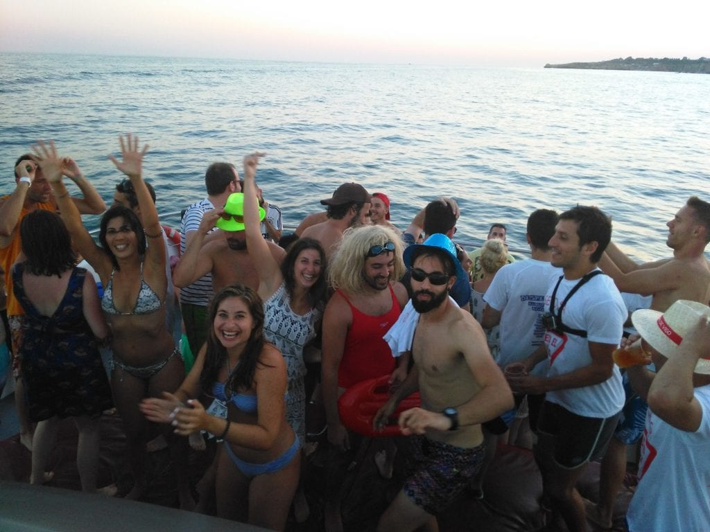 This is the best party boat in the Algarve