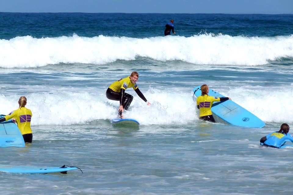 Peniche is one of the coastal towns in Portugal known for surfing