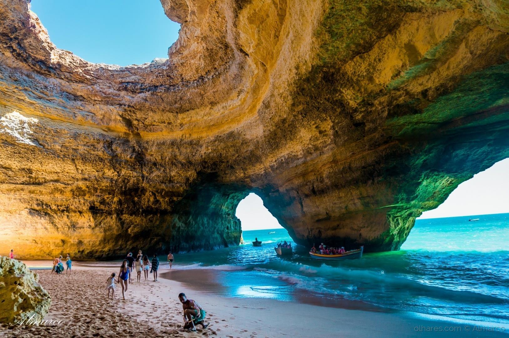 Benagil tour from portim o seabookings - Natura portugal ...