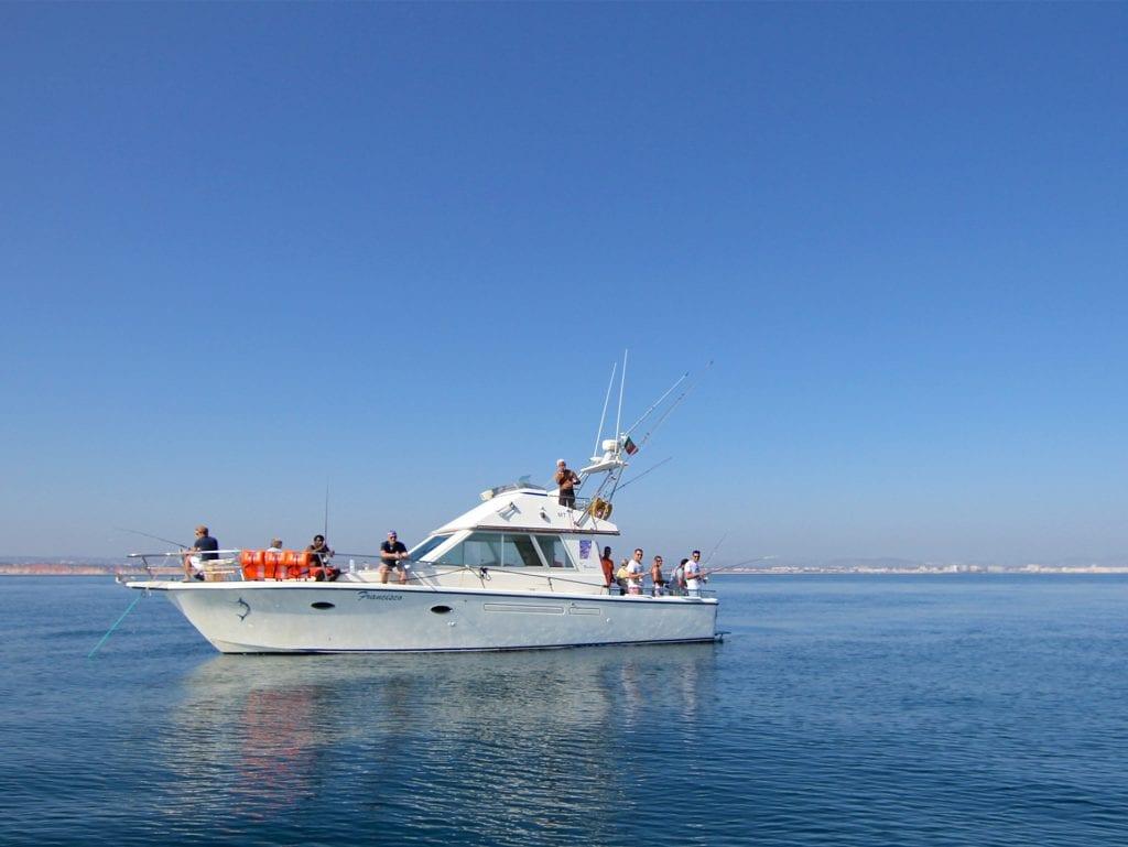 bottom fishing in Vilamoura