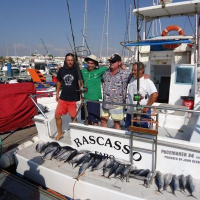 Reef fishing in Vilamoura
