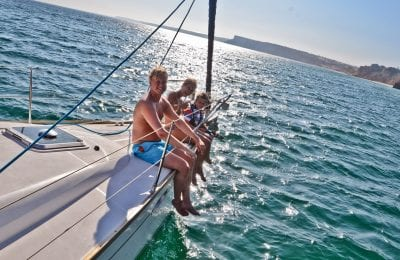 Sailing charter in Portimão