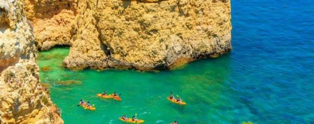 Kayak in Vilamoura