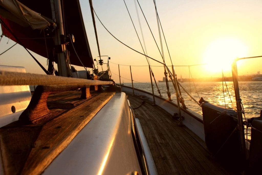 Sunset Tour On A Vintage Boat In Lisbon Seabookings