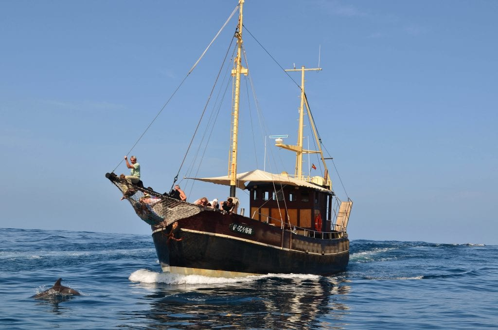 Our boat is very charming and confortable