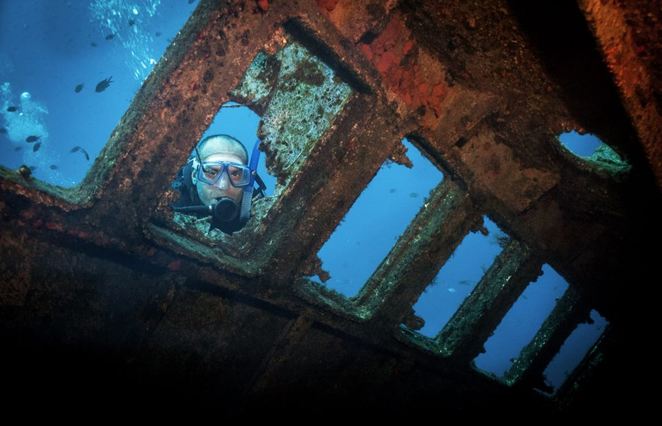 The Tabaiba Wreck is one of our favorite spots for diving in Tenerife
