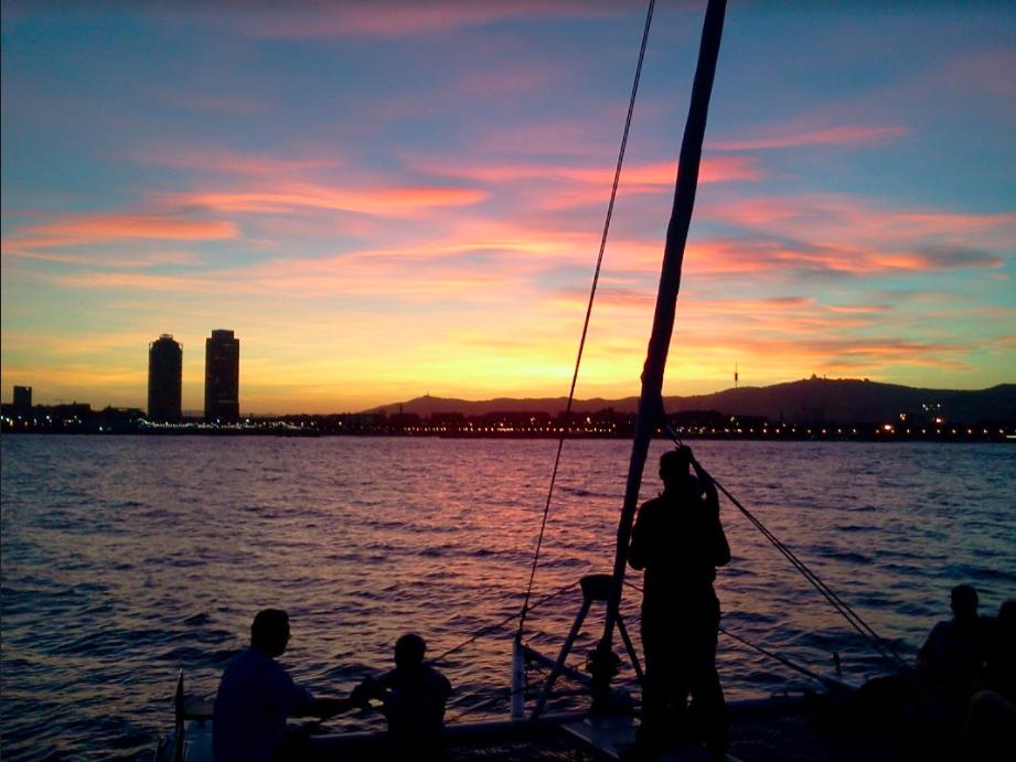 Sunset Cruise em Barcelona