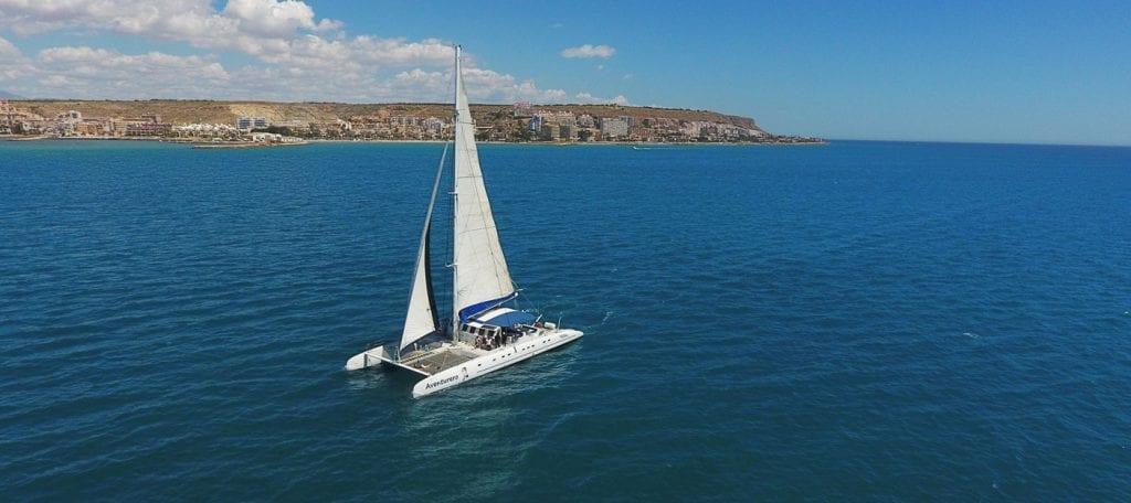 catamaran in Alicante