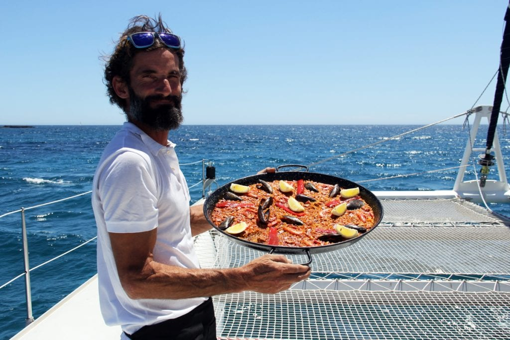 We'll serve a delicious paella