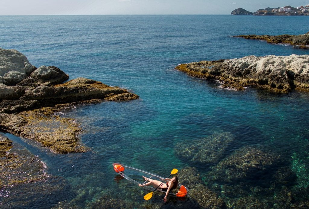 Enjoy the stunning scenery of the coast of Almería