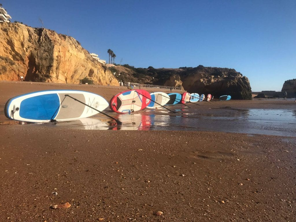 SUP board are very big and stable