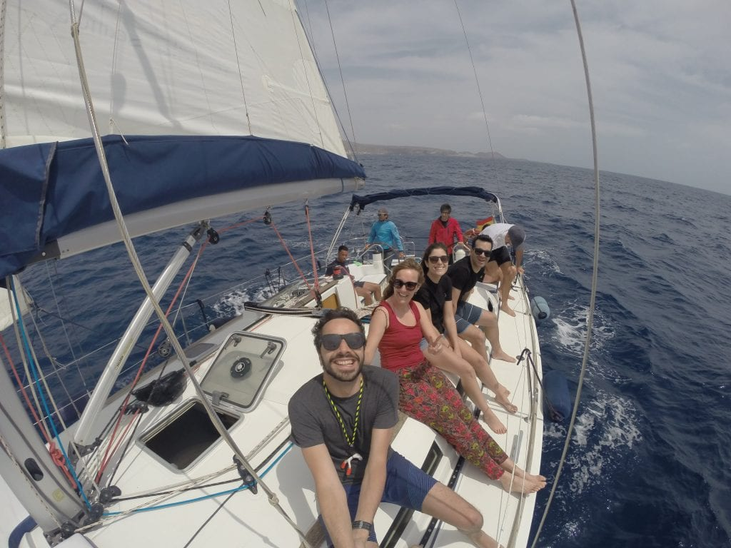 We had a great time in the middle of the Atlantic (literally!)
