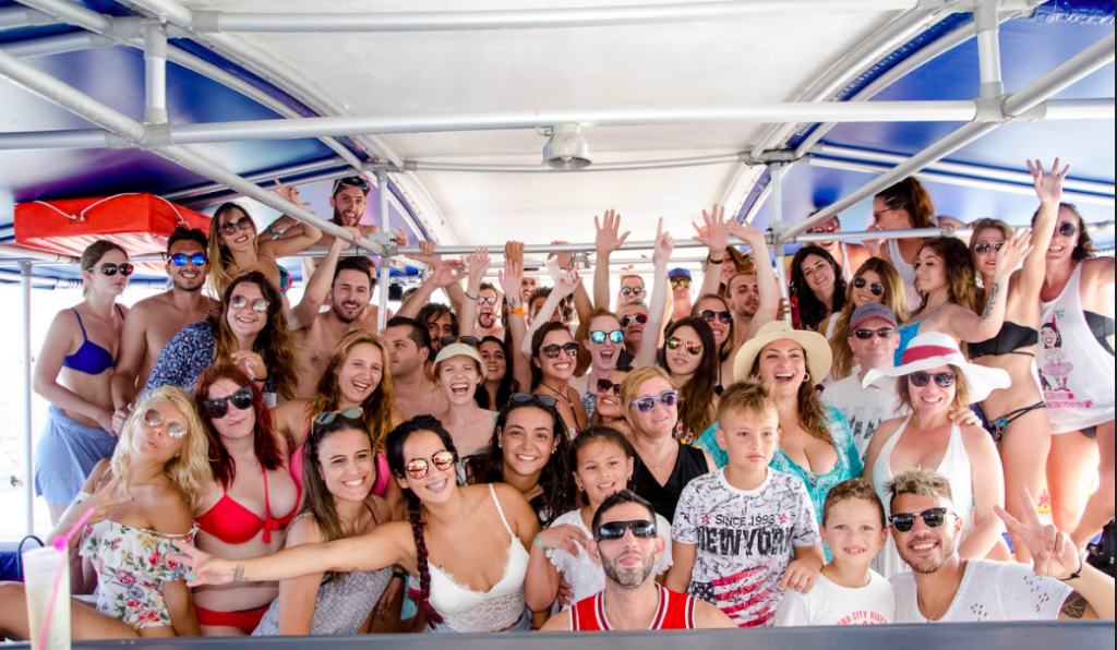 Boat party in Alicante