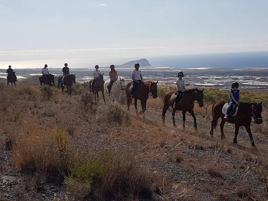 Horse riding is also a nice way to discover the island