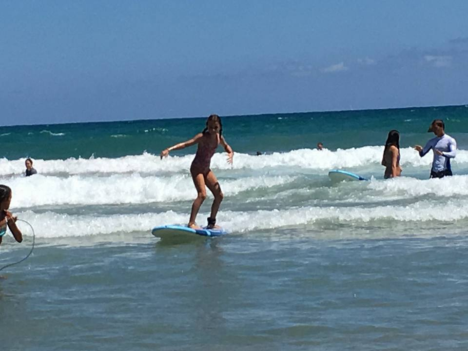 You'll never forget your first time standing on a board
