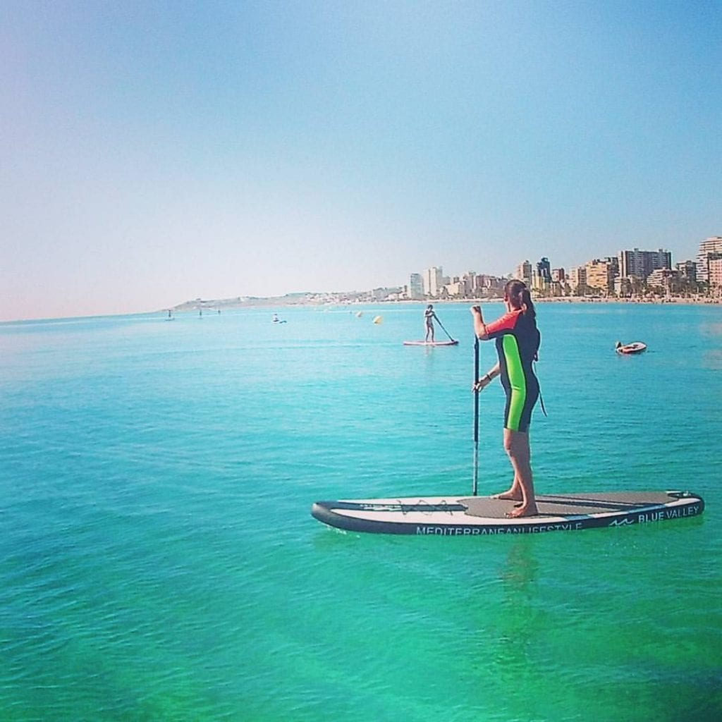 stand-up paddle tour in Alicante
