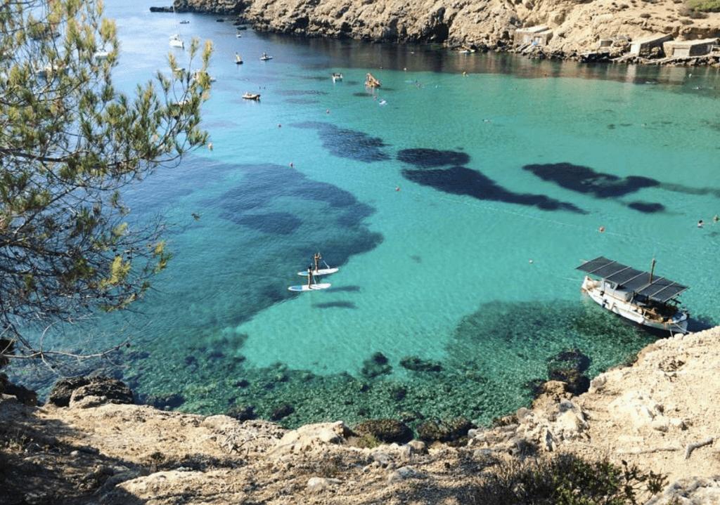 Calla Valadela - aa must see beach in Ibiza