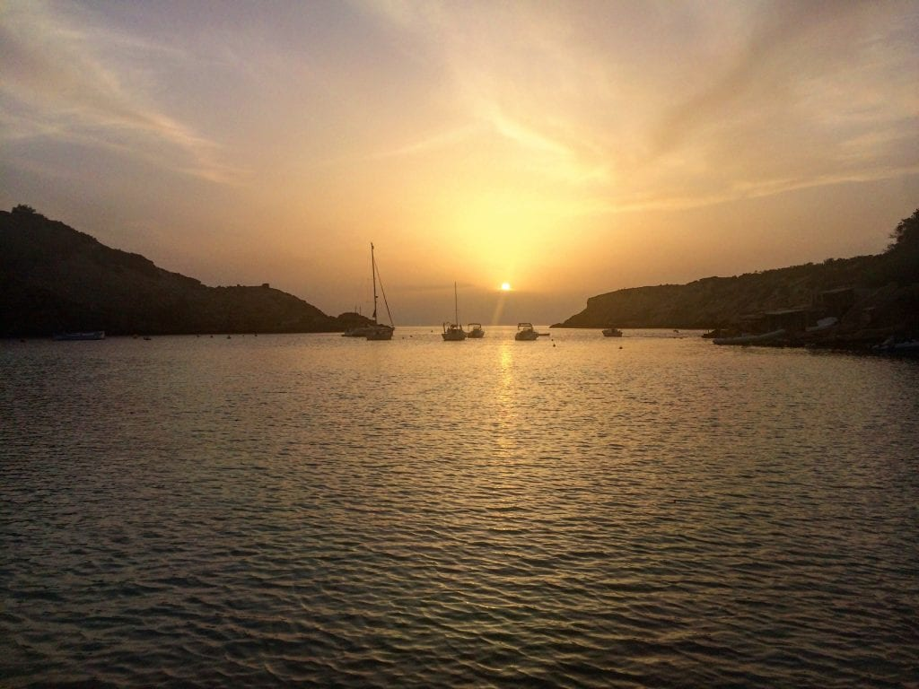 Sunset boat tours are one of the most popular activities in Ibiza
