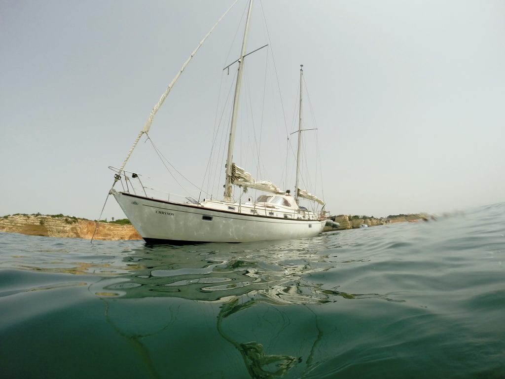 private sailing in Albufeira