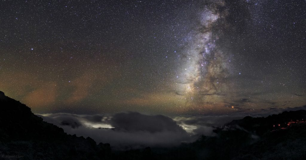 The night sky of La Palma is truly unique