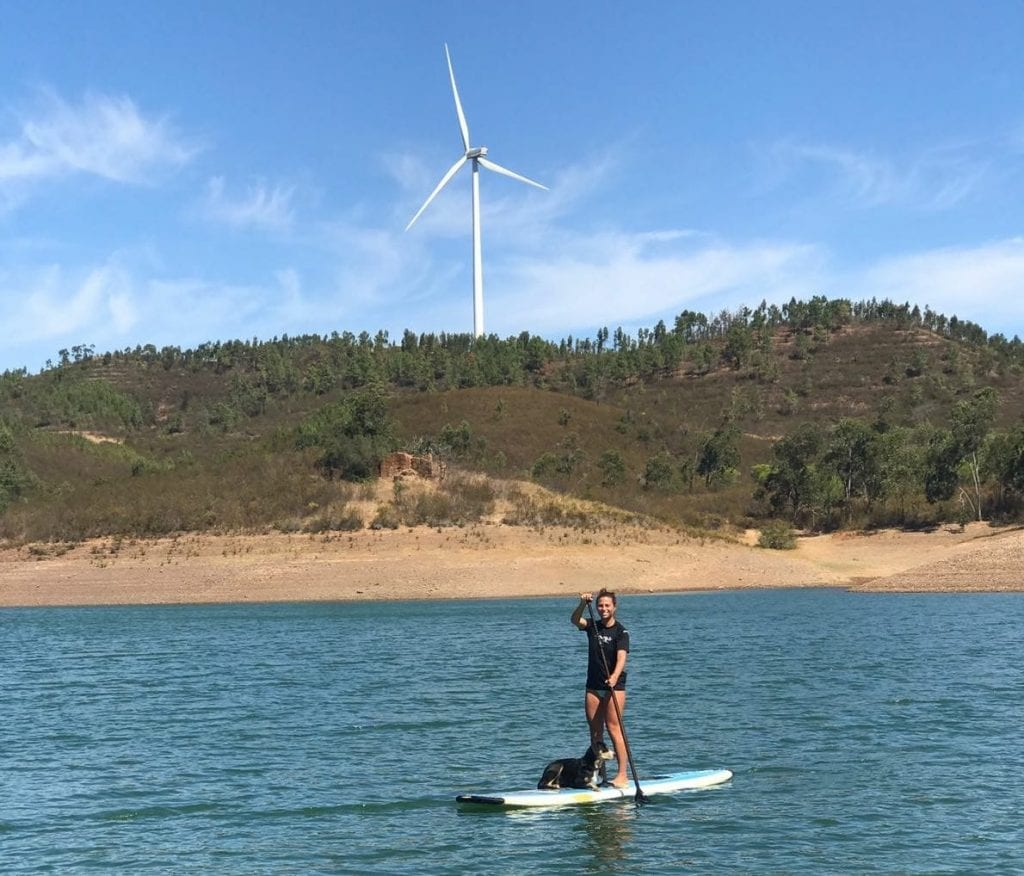 We admit we prefer the sea, but this lake is also great if you want to do some SUP ;)