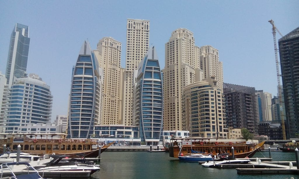 The Marina is very modern and has many types of boats