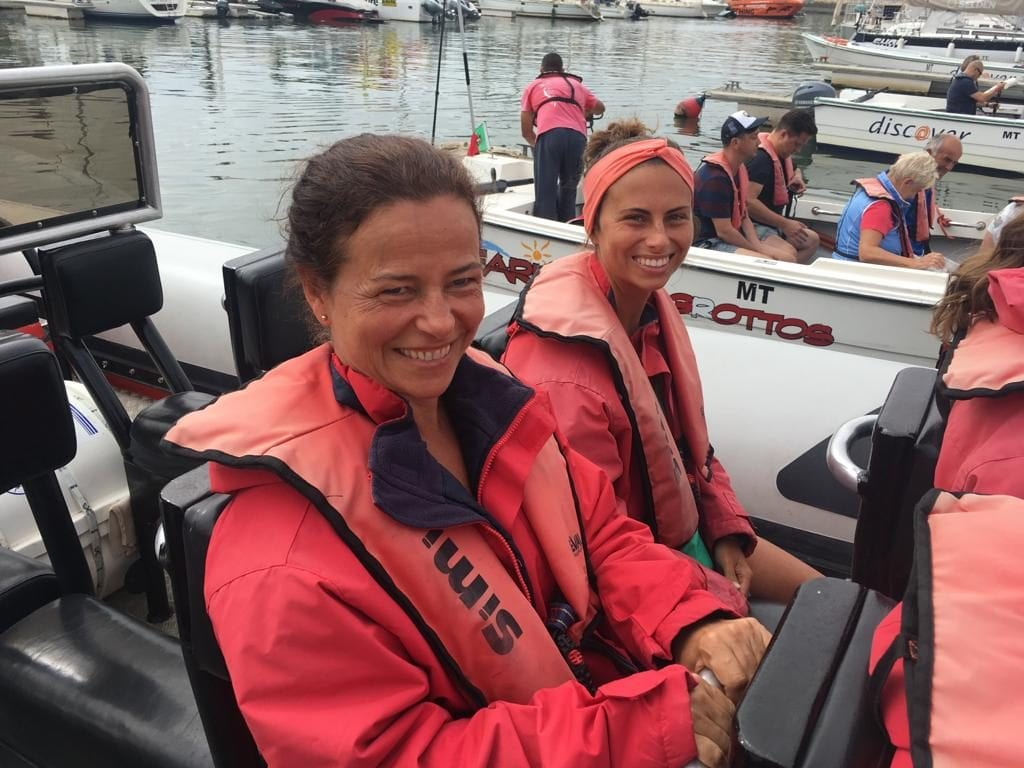 Best thing to do in Lagos with your mum: dolphin watching!