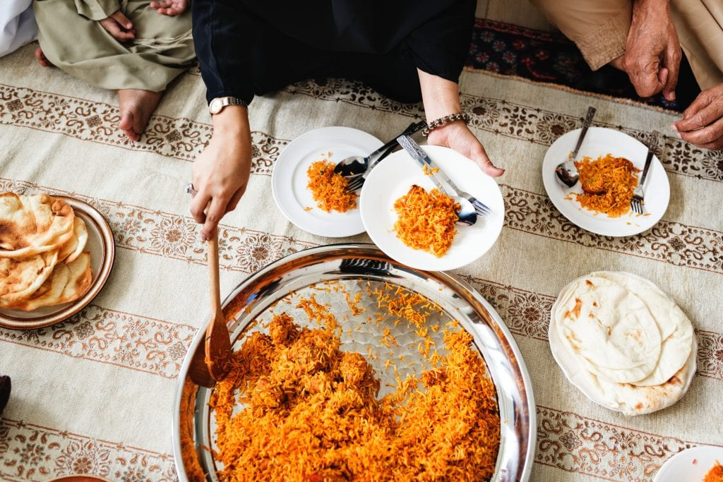 Not eating in public during Ramadan is a kind gesture of respect