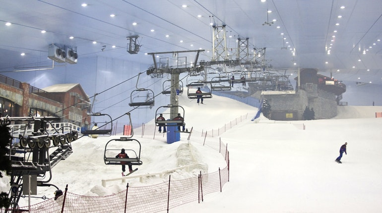Yes, you can go skiing in Dubai!
