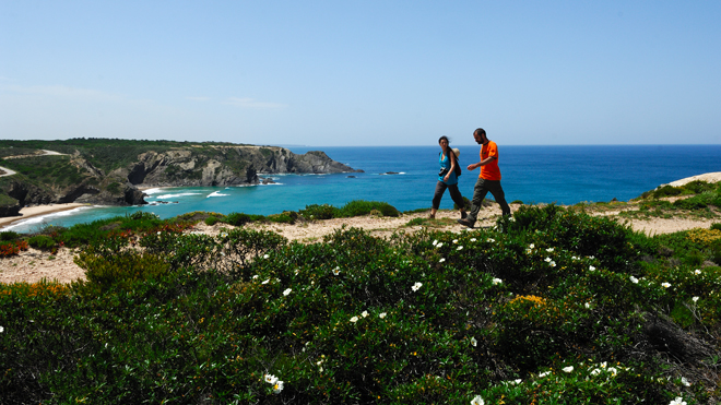 Doing the Costa Vicentina is a must for hike lovers