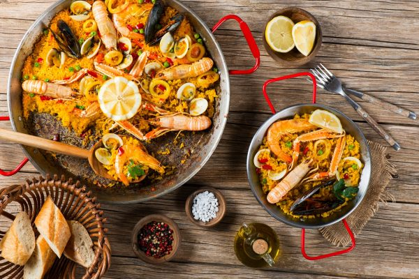 Delicious Paella by Holidayguru